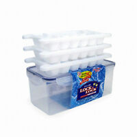 Lock and Lock HPP250S Ice Cube Store Trays, Food Storage Container, 3.4-L