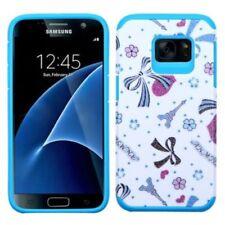 Fundas y carcasas Para Samsung Galaxy S7 color principal azul para teléfonos móviles y PDAs Samsung