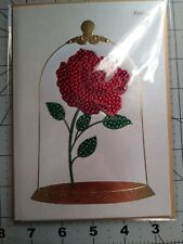 Papyrus Disney's Jeweled Rose from Beauty And Beast Happy Birthday Card