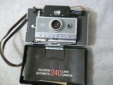 Polaroid Automatic 240 Land Camera