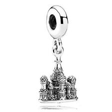 Women Gift Barcelona Cathedral Heart Charm 100 925 Sterling Silver PANDORA