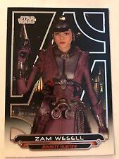 2017 Star Wars Galactic Files Reborn #AOTC-6 Zam Wesell NrMint-Mint