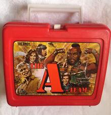 Vintage - A Team - Plastic Lunch Box 1983