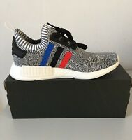 "ADIDAS NMD_R1 PK TRI-COLOUR ""GREY"" BB2888 MEN TRAINERS SIZE U.K. 9, 10."