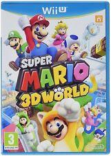 Super Mario 3d World WÖRLD Nintendo Wii U WIIU Video Game Game 4 Player NEW OVP