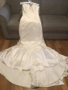 wedding dress size 10. Berkertex Make. Ivory. Strappy. RRP £999. New With Tags