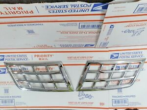 ✅ 2008 2009 2010 2011 2012 NISSAN ROGUE CHROME GRILLE FINISHERS 👍free ship ♥