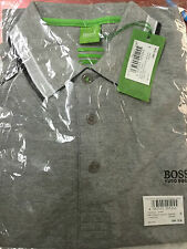 HUGO Branded Polo Tshirt Grey S Size