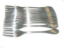 Wmf charme décor plaqué or 12 gâteau Fourchettes Acier Inoxydable Cromargan