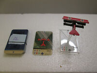 Wings of War: Fokker DR.I Miniature w/Card (Richthofen).  Good Condition