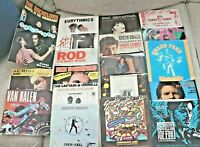 Lot 20 Picture Sleeves 45rpm JukeBox Variety NO DISCS, Random Sleeves for Crafts