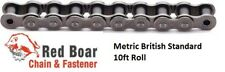 06B-1R ROLLER CHAIN METRIC 10ft Roll From Red Boar Chain
