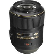 Nikon 105mm f/2.8G ED-IF AF-S VR Micro NIKKOR Lens