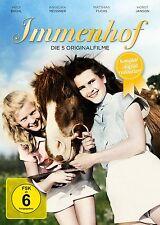 Immenhof The 5 originalfilme Remastered Heidi Brühl HORST JANSON 3 DVD Box NEW