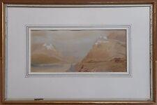 Il CASTELLO SUL RENO, Acquarelli Da Artista elencati Percival Skelton, circa 1870