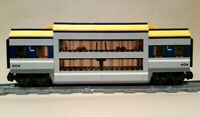 LEGO Train Carriage CUSTOM Club Car Double Deck Passenger Sleeper For Set 60197