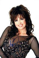 Marie OSMOND SIGNED Autograph 12x8 Photo AFTAL COA American Singer