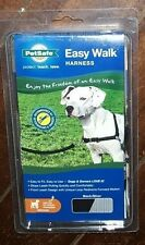 "NIP Easy Walk Harness ~Black/Silver~ Medium - Girth Adjusts from 20"" - 28"""