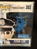 Stan Lee Signed by Stan Lee Funko Pop #283 Exclusive Excelsior Approved Holo