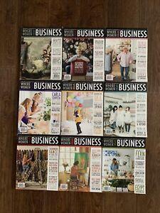 Where Women Create BUSINESS Magazine Book Stampington & Co Creative Ideas LOT