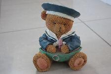 Teddy bear resin money box