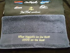 Handtuch Sea Ray Bayliner Glastron Bootssport  Motorboot Segelboot Boats Yacht