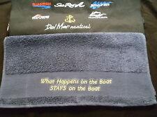Handtuch Sea Ray Bayliner Glastron Bootssport  Motorboot Segelboot Boats Yacht