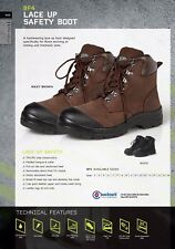 JB's wear Safety Boots  Broad fit Steel Toe Cap For Working Mining Mechanic Site