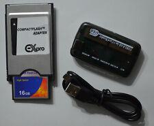 16 GB PCMCIA Adapter für Mercedes Benz Comand APS System W212 W204 W221 W207