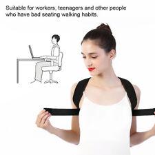 1PC Black Posture Support Corrector Back Straight Shoulder Adjustable Brace