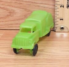 Vintage Wannatoy Plastic Green Water Truck Toy Car Only -U.S.A.- **READ**