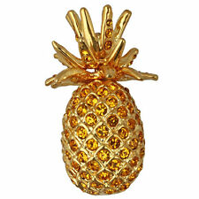 Pineapple Pin Goldtone New Kirks Folly Pretty