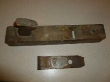 Antique Sandusky Tool Co Patented Wooden Woodworking Plane