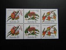 1983  Australia Eucalyptus Flowers Booklet Pane MNH Sg870a