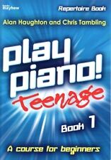 PLAY PIANO TEENAGE REPERTOIRE Book 1 Haughton*