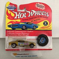 #18 DON SNAKE PRUDHOMME * GOLD Barracuda * Hot Wheels Vintage Collection * NF7