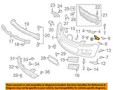 MAZDA OEM 07-12 CX-7 Front Bumper-Retainer Bracket Right EH14500T1A