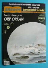 Answer KET 6 (8/2010) - Polish destroyer ORP Orkan