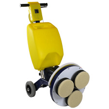 "Cimex 15"" Carpet Cleaning Machine 3 Head CR38CM Reversing 6.5gal w/ Accessories"