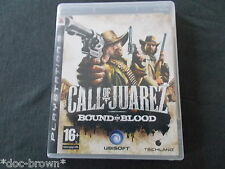 CALL OF JUAREZ BOUND IN BLOOD  SONY PS3