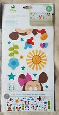 Disney Baby 56 Removable Wall Stickers - Mickey and Minnie Mouse - Nursery Kids
