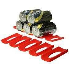Silicone Fridge Can Beer Wine Bottle Rack Holder Mat Stacking Tidy Gadgets UK