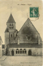TOURY 23 l'église timbrée