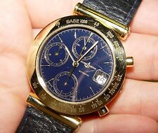 ULYSSE NARDIN Chronograph Automatic Calendar 431-22 5185 18K 36MM watch 1991