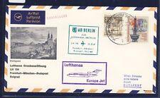 50381) Berlino, Zul. a LH FF FFT/mchn-Budapest 25.8.67, MIF