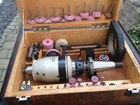 Planetor Orbital-Schleifkopf/hochturiger Getriebeschleifkopf z.B. für Deckel FP2