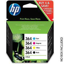 HP 364 4-pack Black/Cyan/Magenta/Yellow Original Ink Cartridges