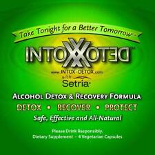 Intox Detox - Alcohol Detox and Hangover Recovery Relief - 4 VCaps - Exp-2-2020