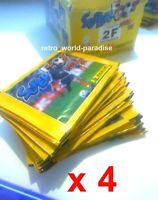 zidane thierry henry rookie wc 98 panini 4 pochettes Neuves superfoot 1998 / 99