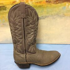 Red Wing  VINTAGE GRAY Bullhide Cowboy/Western 9807 Motorcycle Boots Sz. 9 D